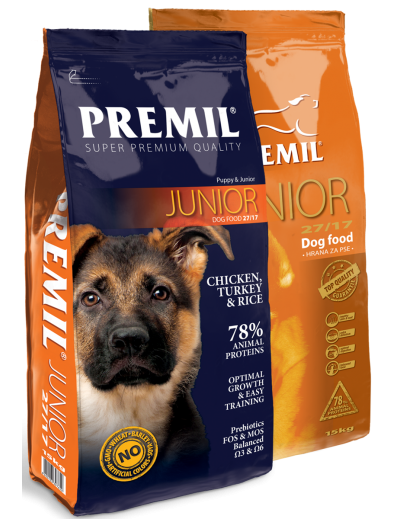 Σκυλοτροφή Premil